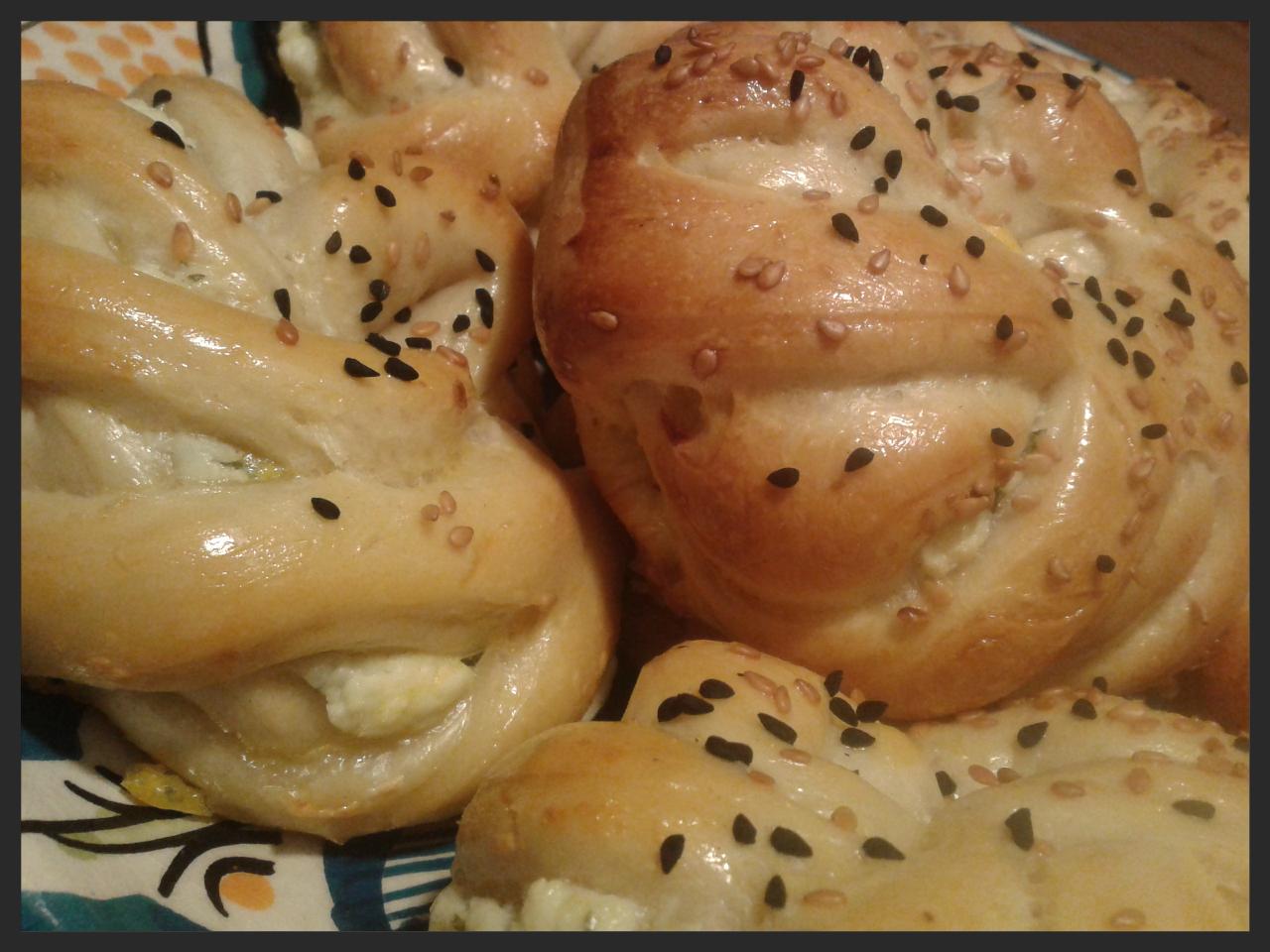 Ellouisa: Peynirli pogaça (Turkse zachte broodjes met feta)