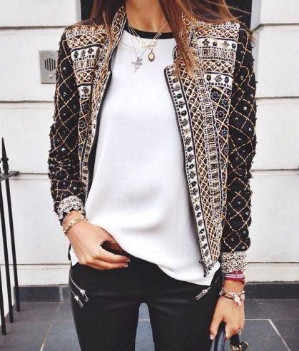 Embellished Jacket – ShopStyle