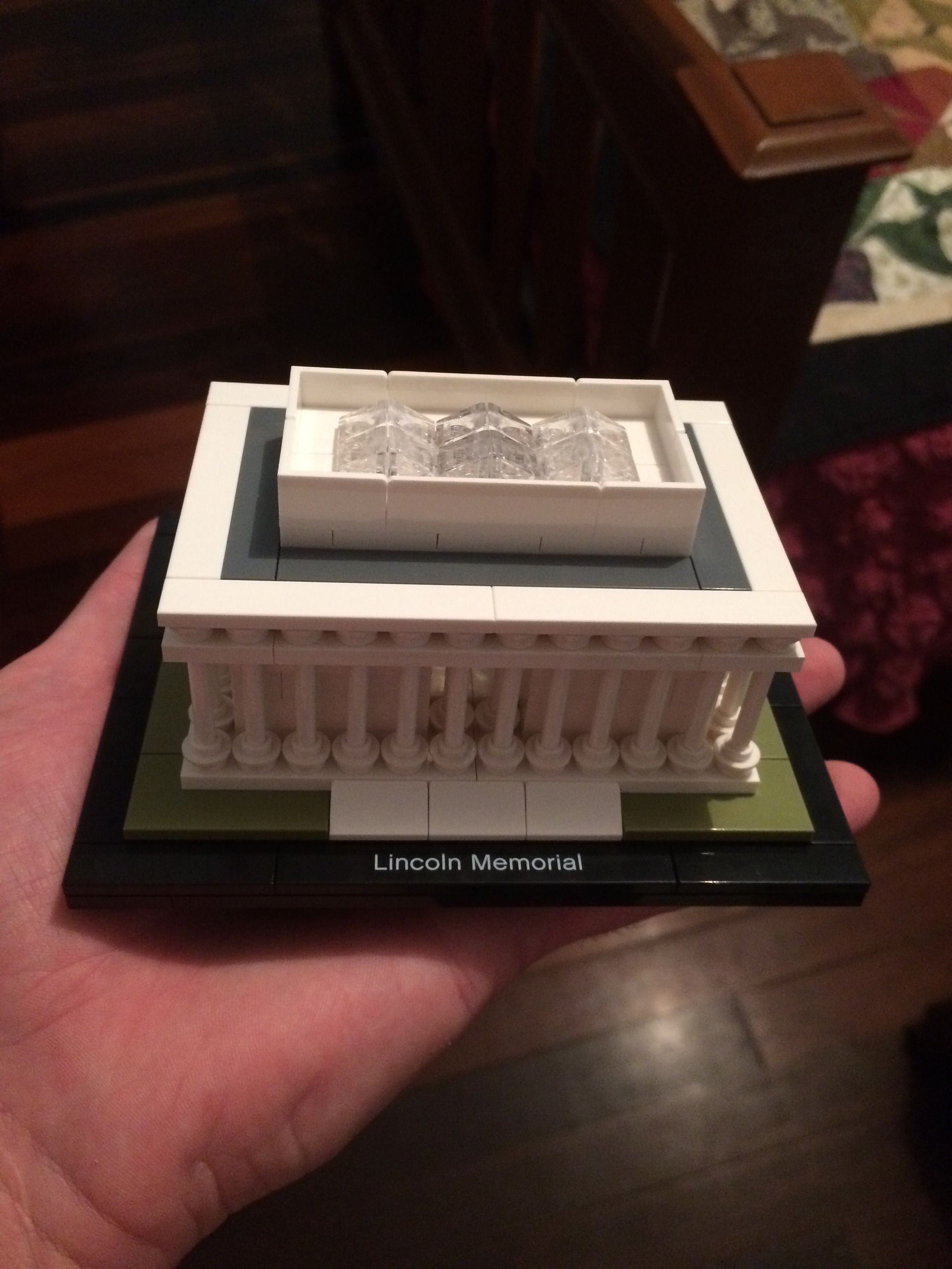 of architecture category memorial liberty lego lincoln statue