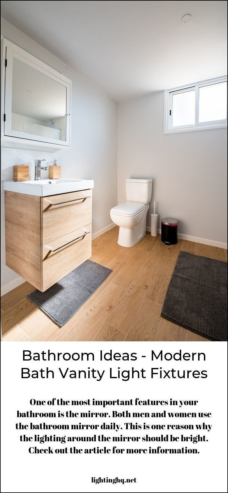 Simply Click The Image To Find Out More Modern Bathroom Vanity Lights Bathroomvanitylightfixtures Bathroomlightfixt Bathrooms Remodel Simple Bathroom Remodel