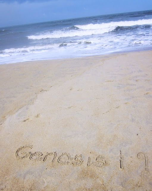 Scripture in the Sand