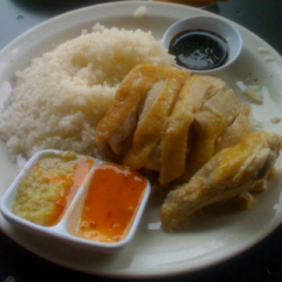 Hainan Chicken - Savoy Kitchen, Alhambra, CA | food | Pinterest | Dishes