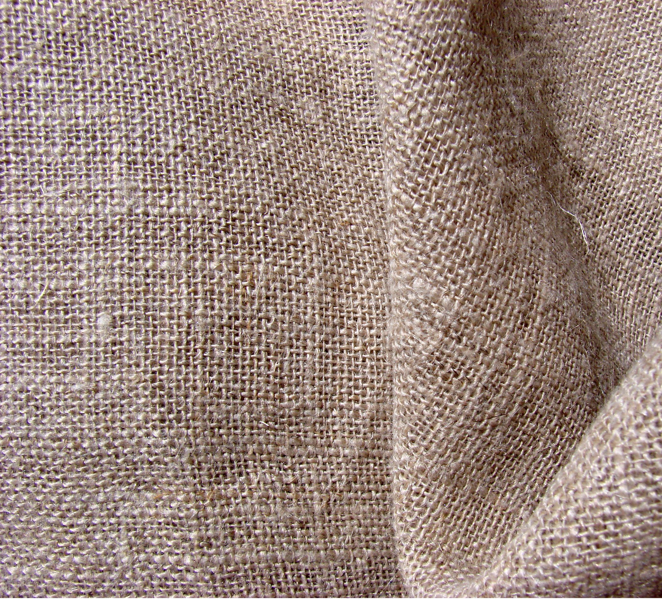 We love this natural linen fabric for its raw look this for Linen fabric