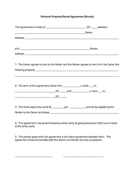 Rental Agreement Template Free Printable Documents Rental Agreement Templates Lease Agreement Rental