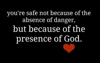 Because of the presence of god