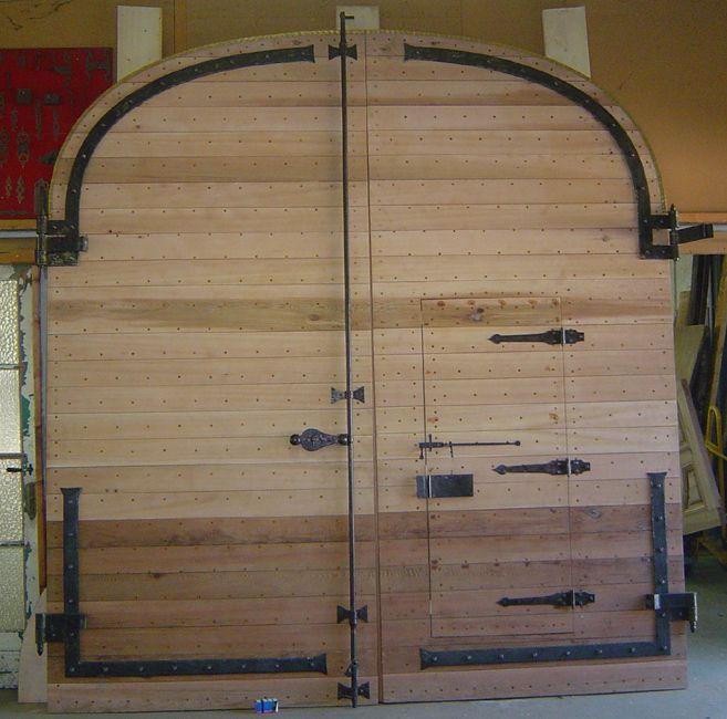 Portail Red Cedar Avec Porte Pietons | Home Improvement Ideas