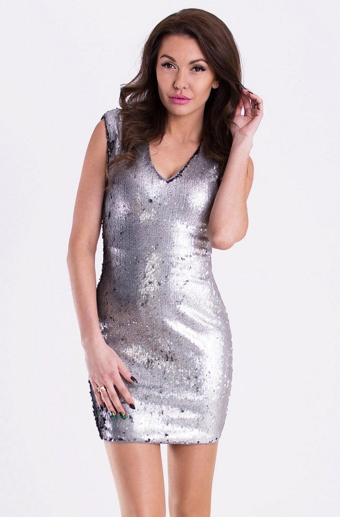 Dress covered with sequins