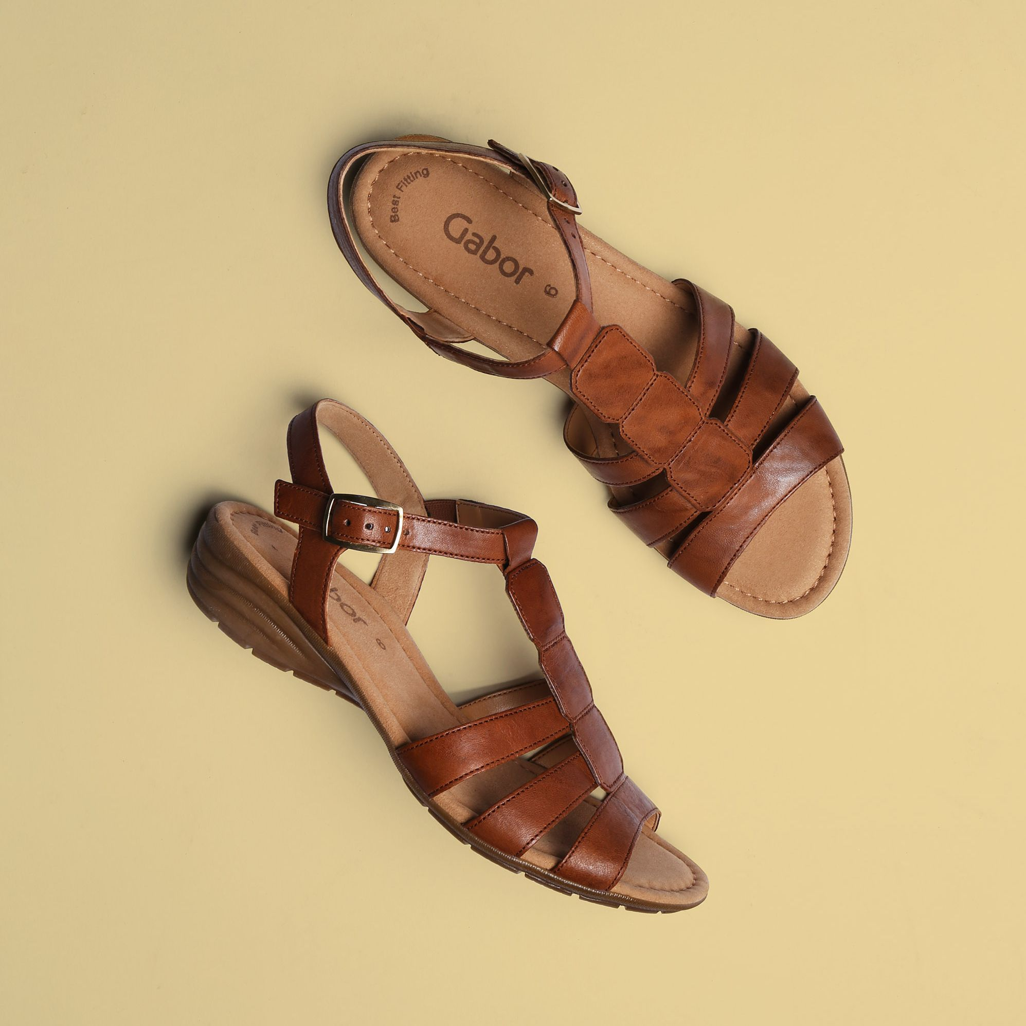 8771de4790dd What better sandals for a sunny day than the aptly named Gabor Solar! 😎☀