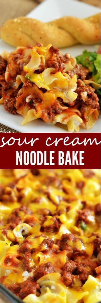 Sour Cream Noodle Bake