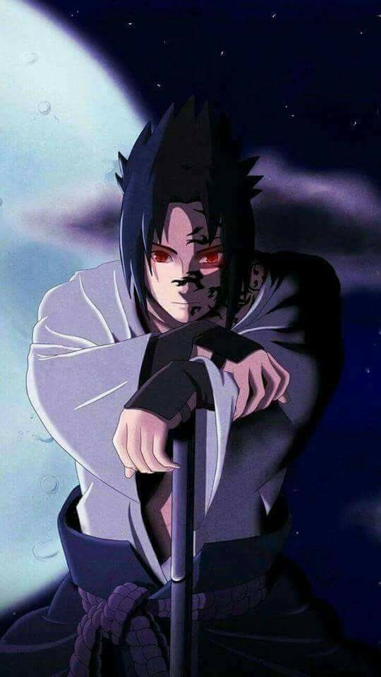 Sasuke Uchiha Curse Mark Form Wallpaper Shippuden Orochimaru Sharingan Anime