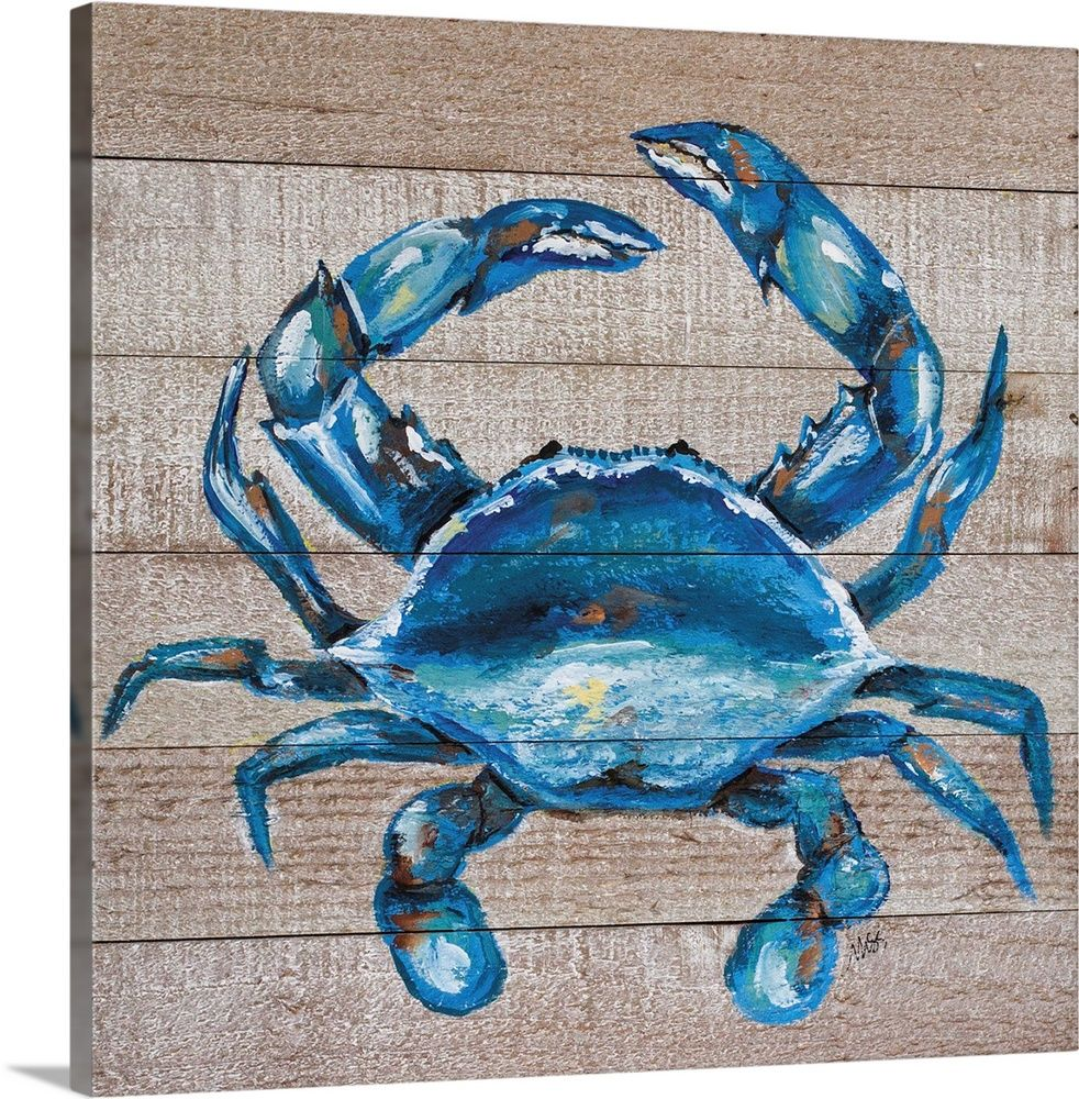 Blue Crab In 2021 Crab Painting Blue Crabs Art Crab Art