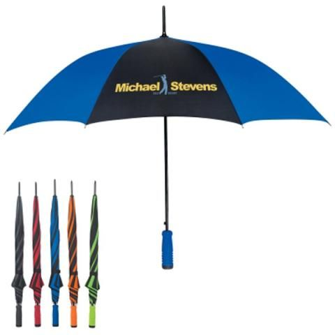 Render Rain A Non Factor With A Promotional Umbrella That