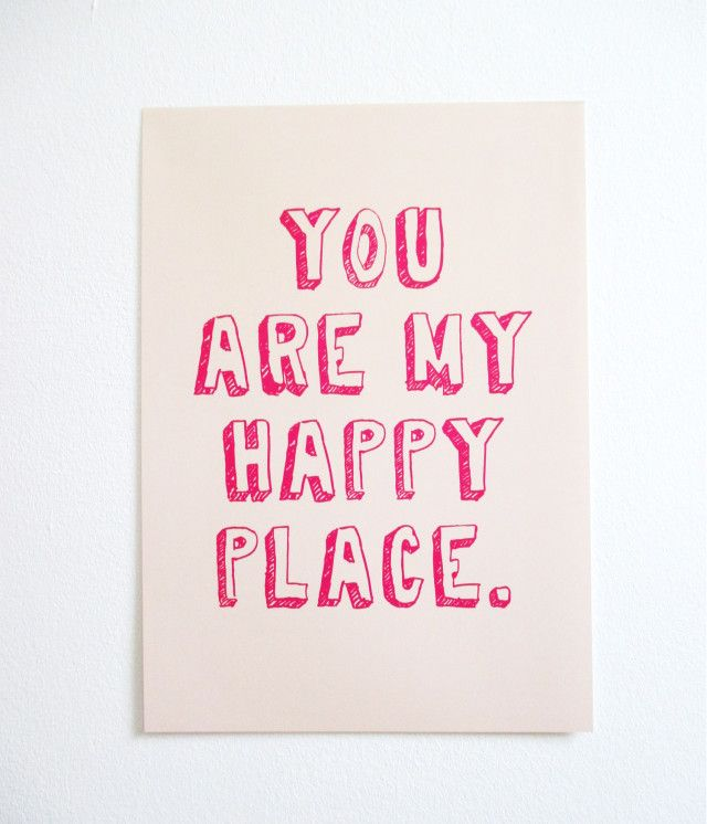 PETERSEN Hellopetersen Poster You Are My Happy Place · Valentinstag ArbeitskollegenNette Worte EhemannFreundinWunderlandWeihnachtsgeschenkeSchilderDinge
