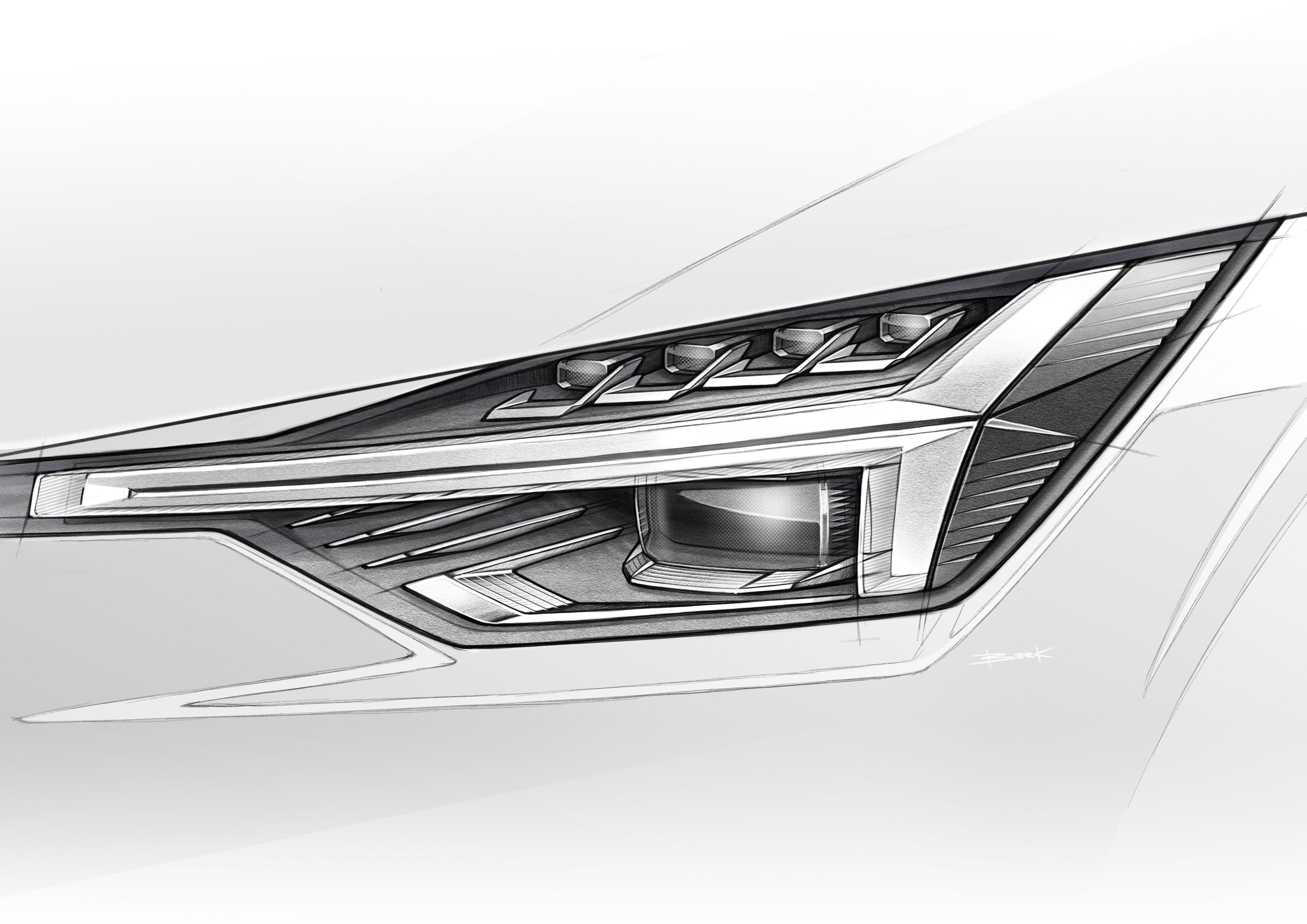 Polestar 2 Headlamp Sketch Diseno De Transporte Disenos De Unas Autos