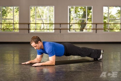 Plank for best abs workout
