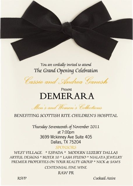 Pin By Jennaffairs On Grand Opening Ideas Grand Opening Invitations Invitation Cards Invitations