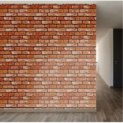 Removable 8 X 20 Brick Wallpaper