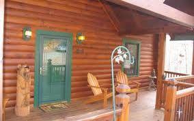 Log Cabin Front Porch:-)