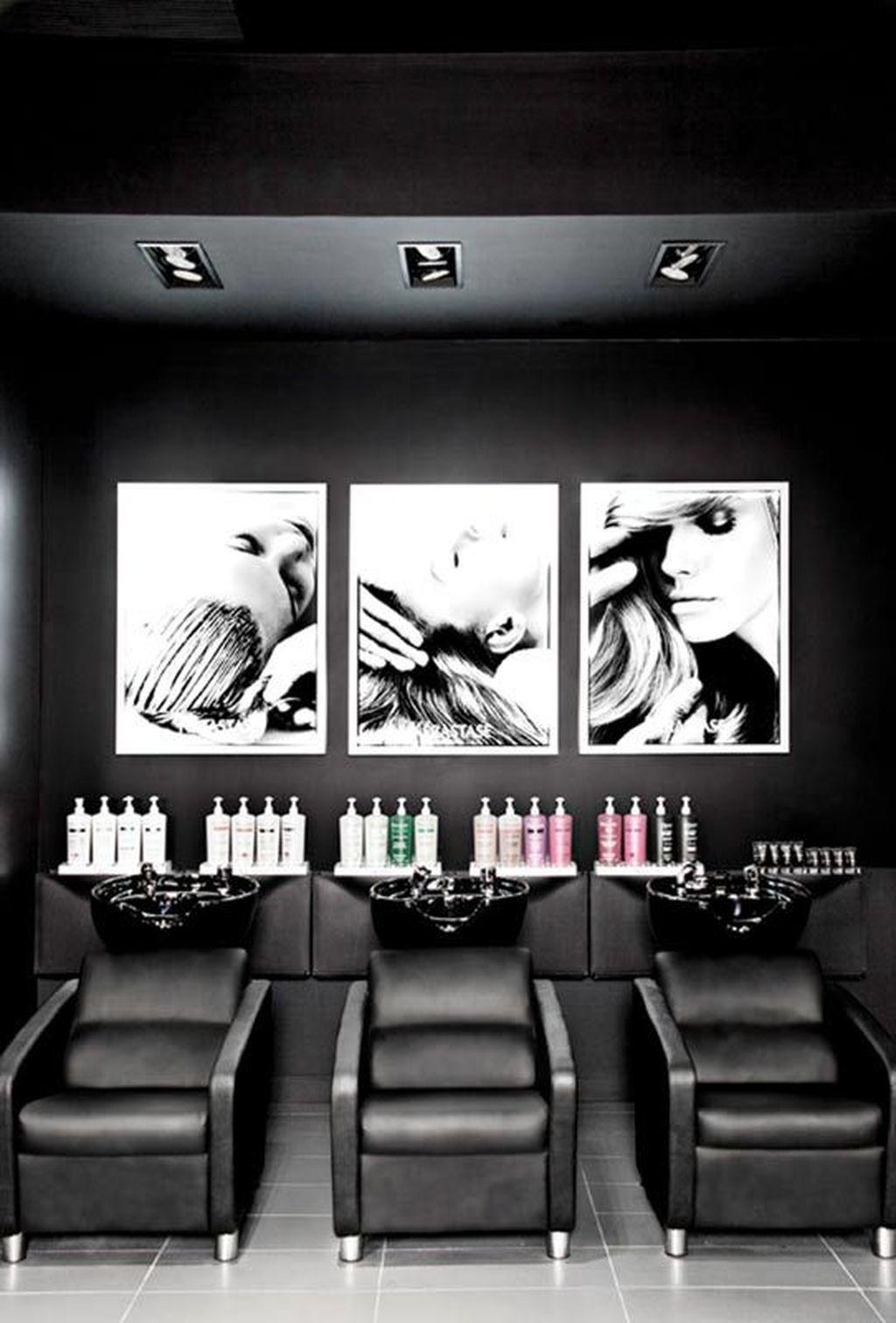 17+ Hair Salon Ideas 17 en 17  Diseño de salón de belleza