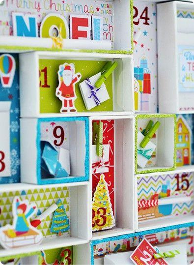 le calendrier de l 39 avent petits mots doux cr ation. Black Bedroom Furniture Sets. Home Design Ideas