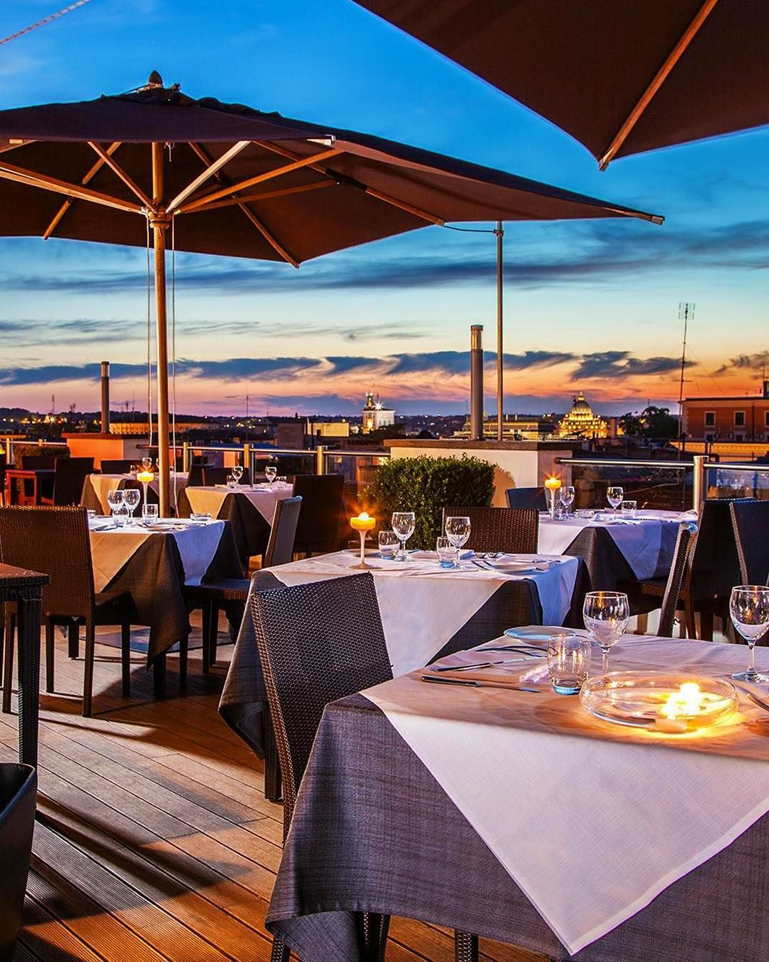 When In Rome Score A View Of Rome With A Dinner Reservation