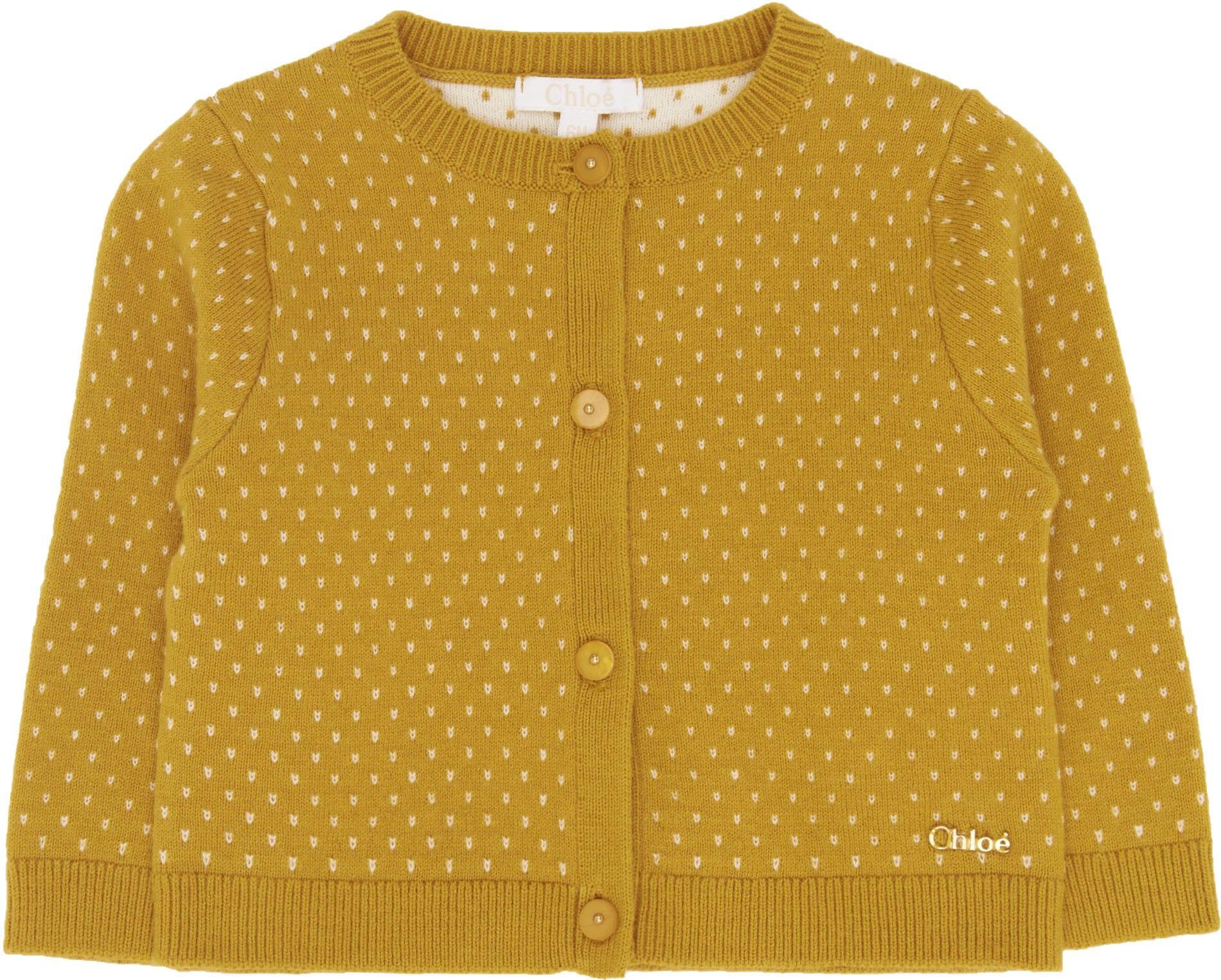 Buy Chloe Girls Reva Baby Cardigan in Yellow at Elias & Grace ...