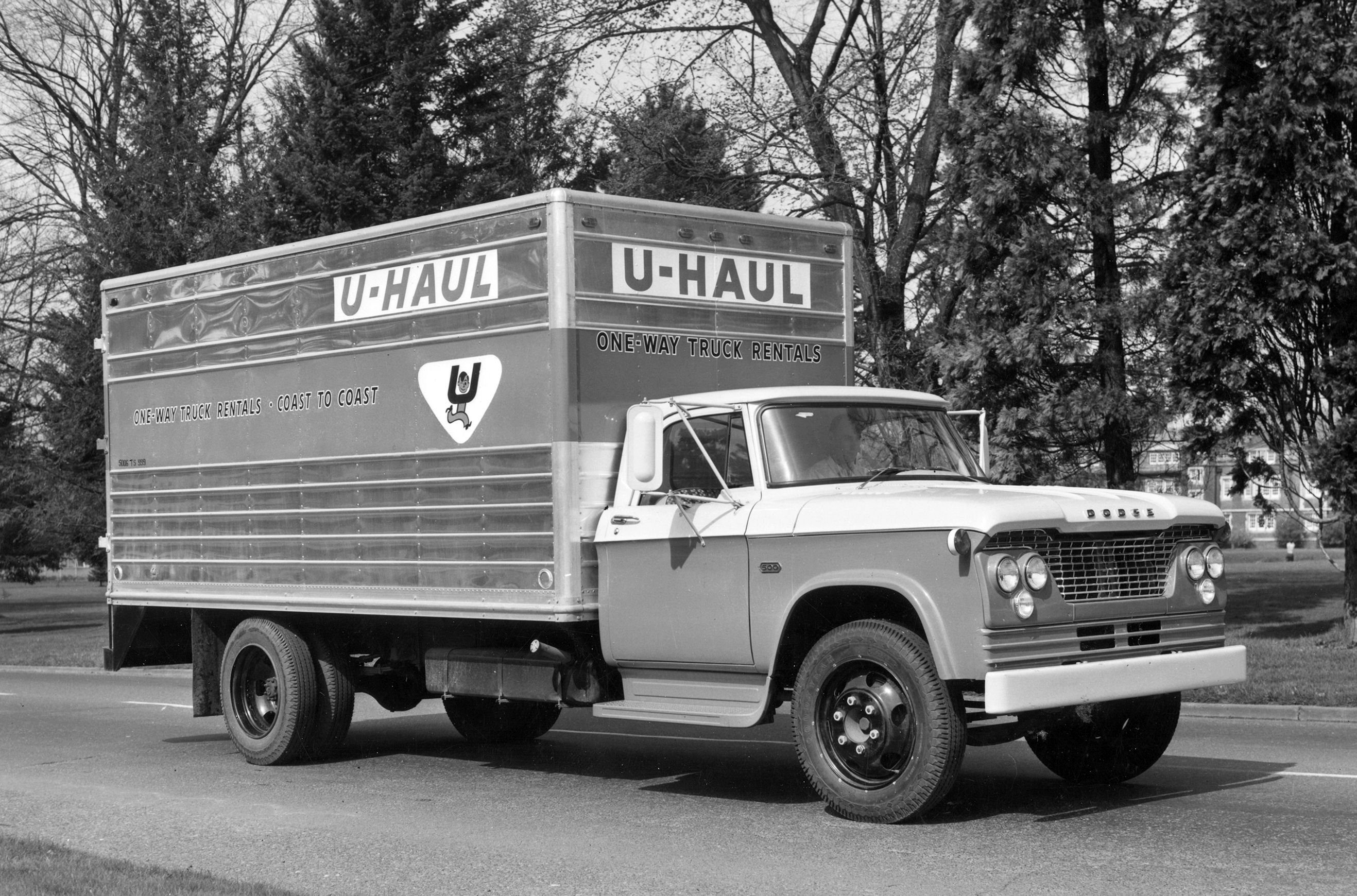 The Very First U Haul Trucks U Haul Truck Trucks Heavy Duty Trucks