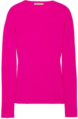 ShopStyle: Michael Kors Ribbed cashmere sweater