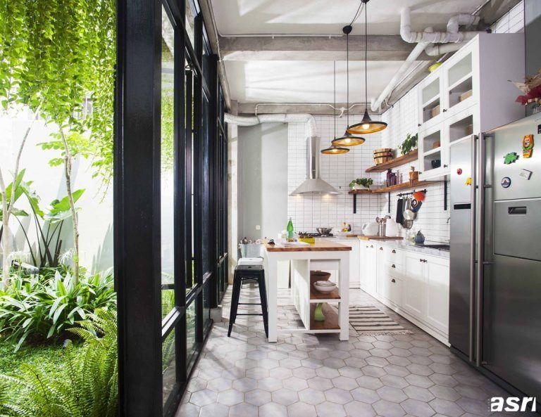 20 Desain Dapur Terbuka Di Halaman Belakang