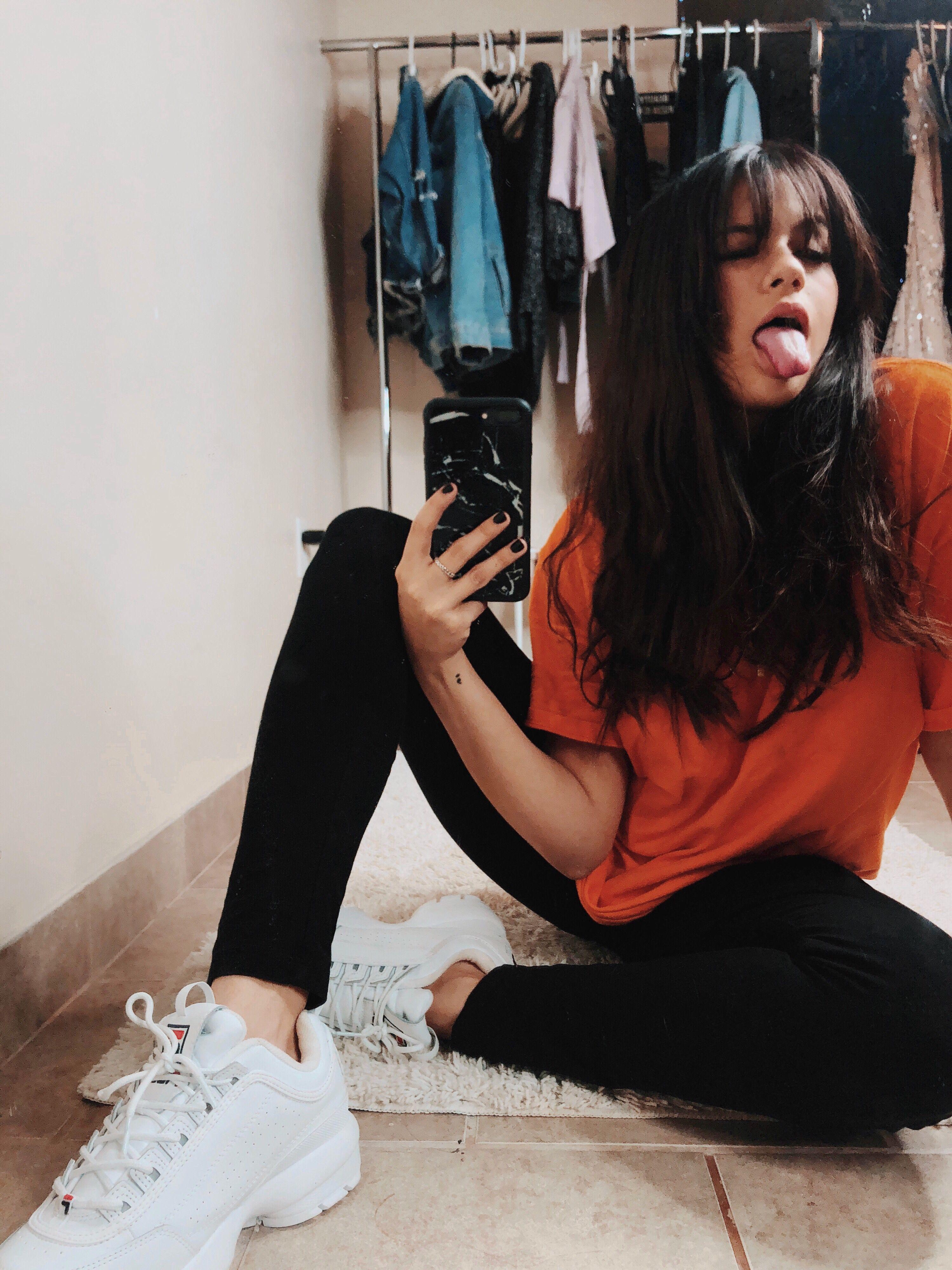 Fila White Sneakers + Casual Outfit | Fila in 2019 | Fila