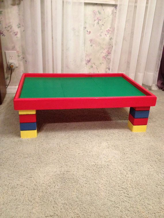 Custom Lego Table 20x30x10 By WooderfulCreations On Etsy, $199.00