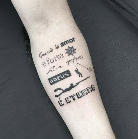 Tatguagem Tatuajes Tatuagem Escrita Frases Tatuagem Y Tatuagem