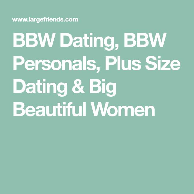 Plus size personals