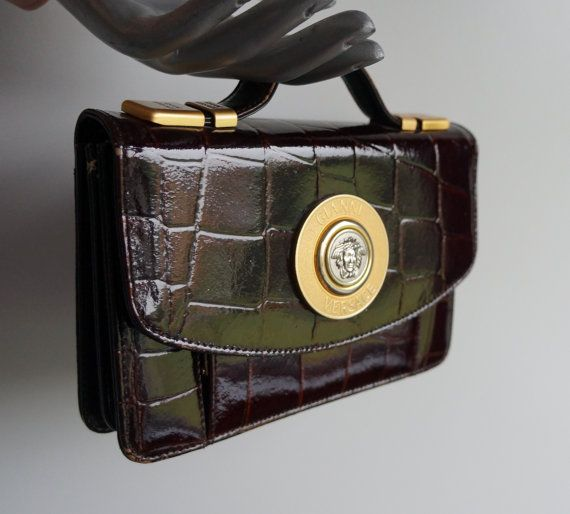 5f7ad718c9430f gianni versace vintage clutch bag | Gianni Versace Style | Versace ...