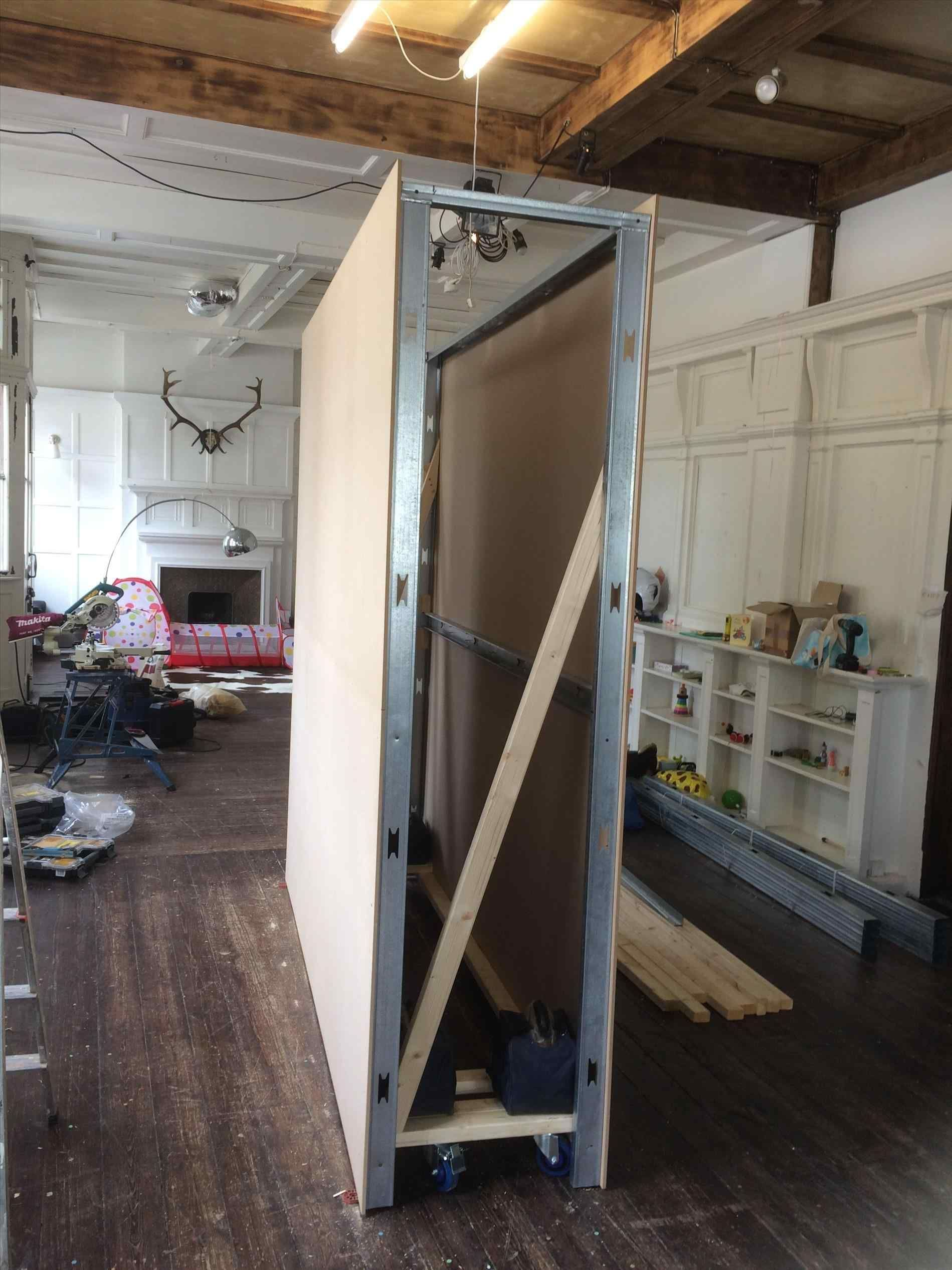How To Build A Freestanding Wall On Wheels 12 Pictures Free