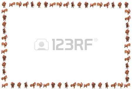 Perro de la Navidad supone marco | Pinterest | Perro de la navidad ...
