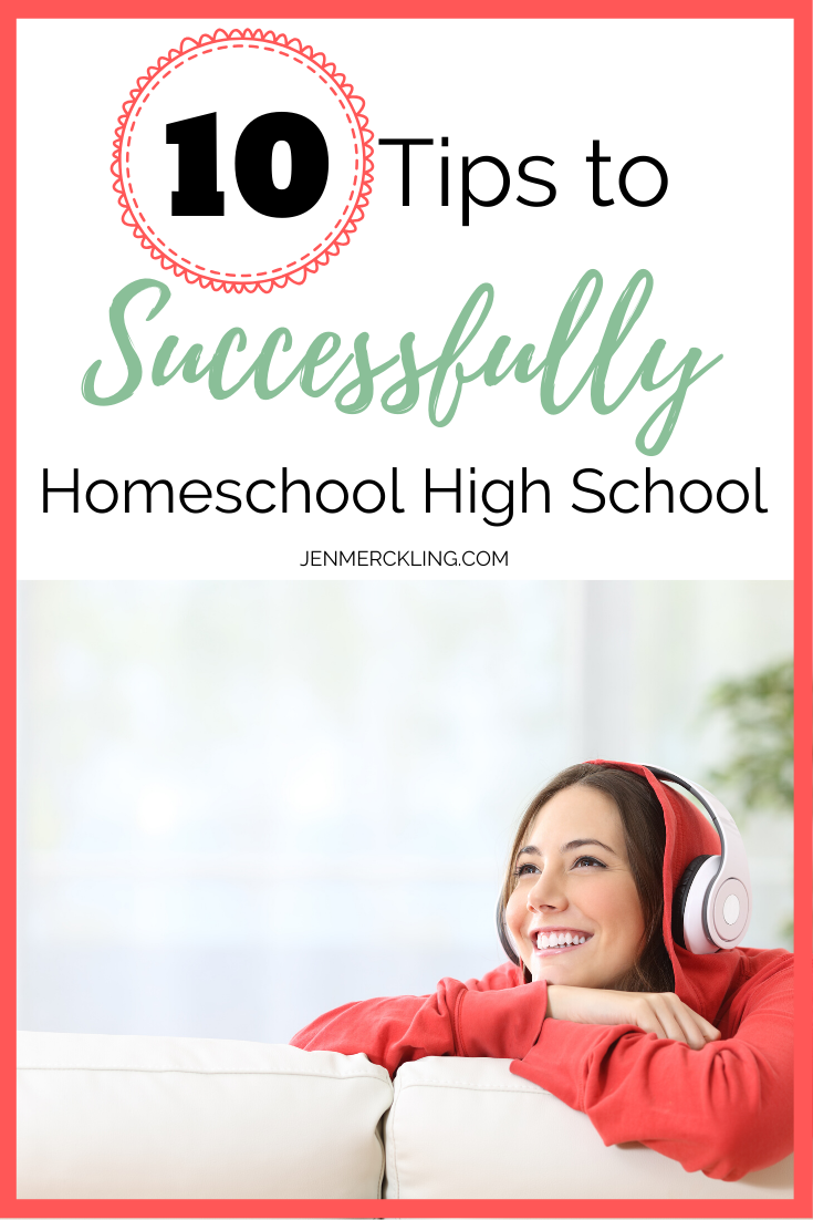 Photo of 10 Best Tips to Successfully Homeschool High School