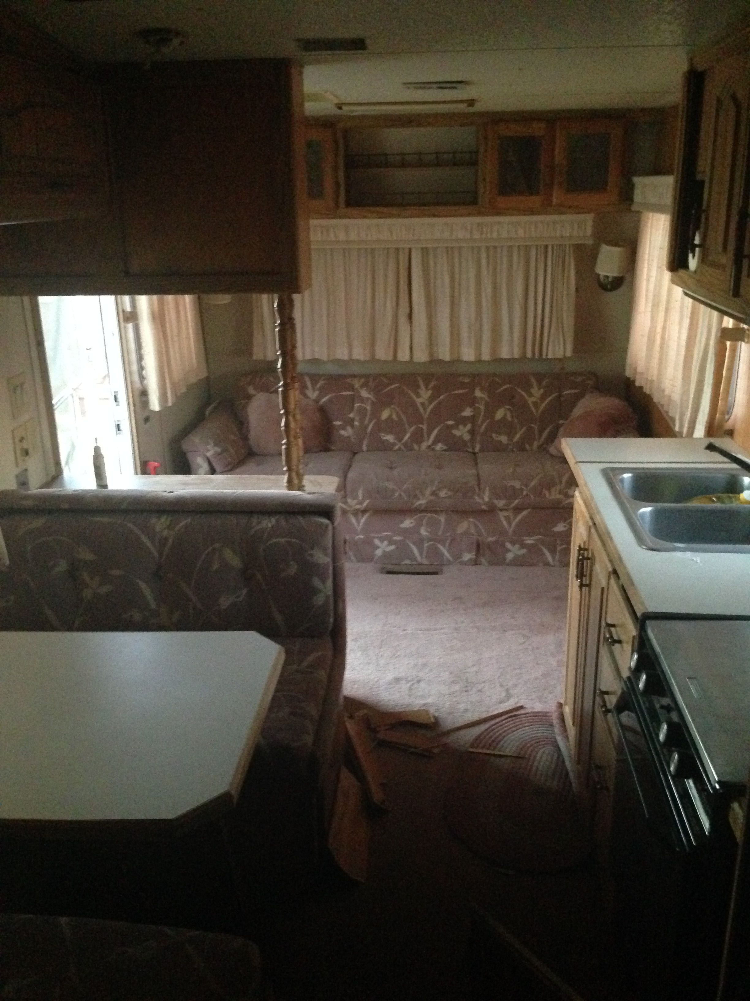 1987 Kountry Aire 5th Wheel RV Camper Interior | rv living ...