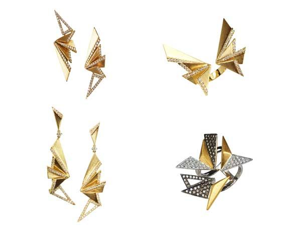7aee2ee87 Kavant-Sharart-origami collection gold and diamond jewels | Fine ...
