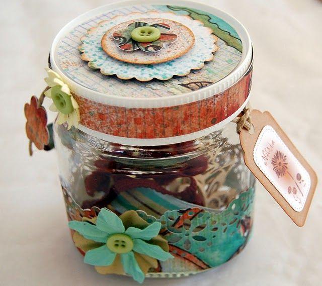 Nutella Jar upcycle