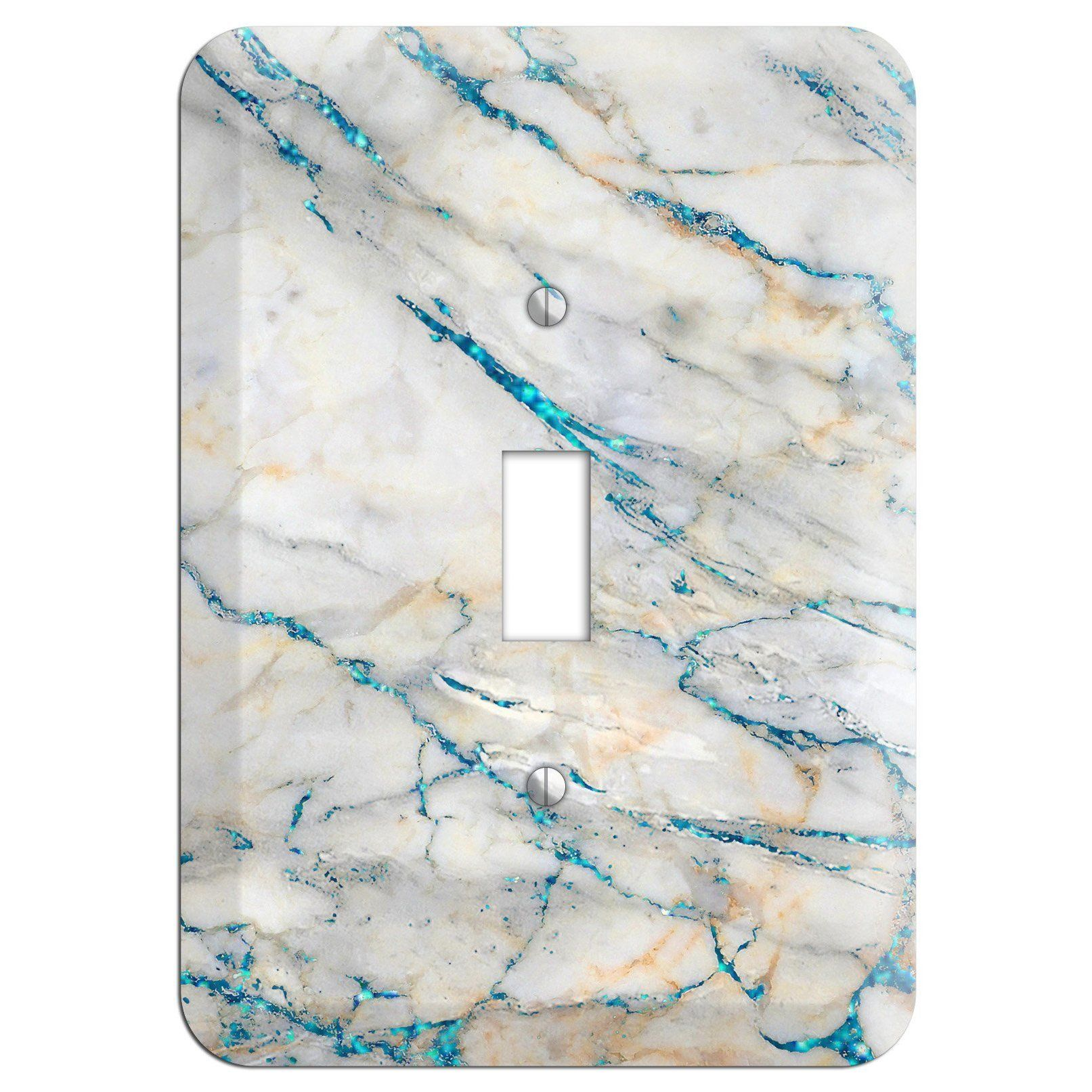Bondi Blue Marble Cover Plates Light Switch Plate Cover Plate Covers Switch Plate Covers