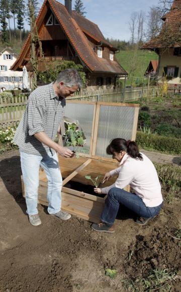 ein fr hbeet bauen und bepflanzen selber bauen fr hbeet bauen und fr hbeet. Black Bedroom Furniture Sets. Home Design Ideas