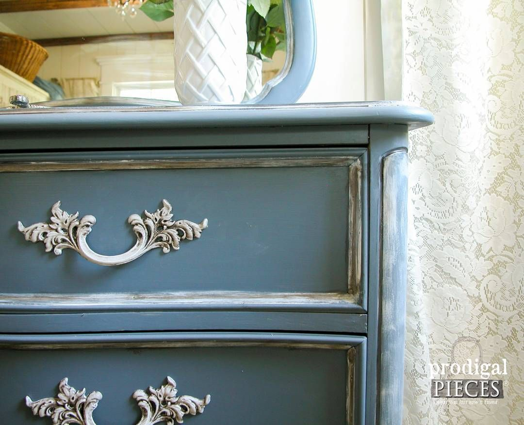 """Blue is one of my favorite furniture makeover colors.  Funny thing is...I don't have any in my home...yet.  What's your favorite color of furniture?…"""