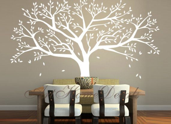 Family Tree Wall Decal Tree Wall Sticker Vinyl by ArtHomeDecals, $85.00