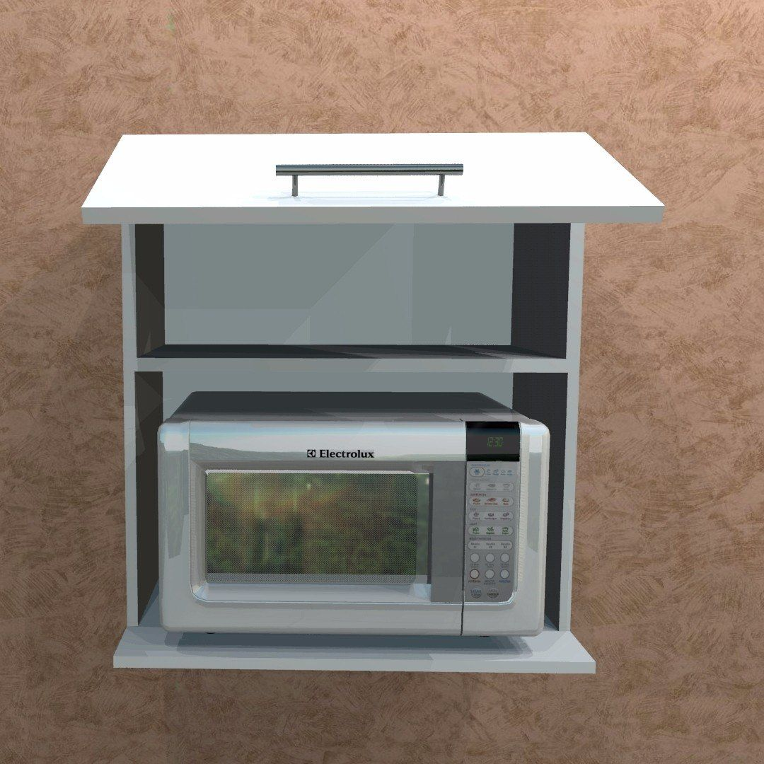 16 Ideas De Mueble Para Microondas Muebles Microondas Muebles De Cocina Muebles
