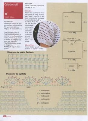 MARINITA ENTRE HILOS Y AGUJAS: A CROCHET REMERAS II