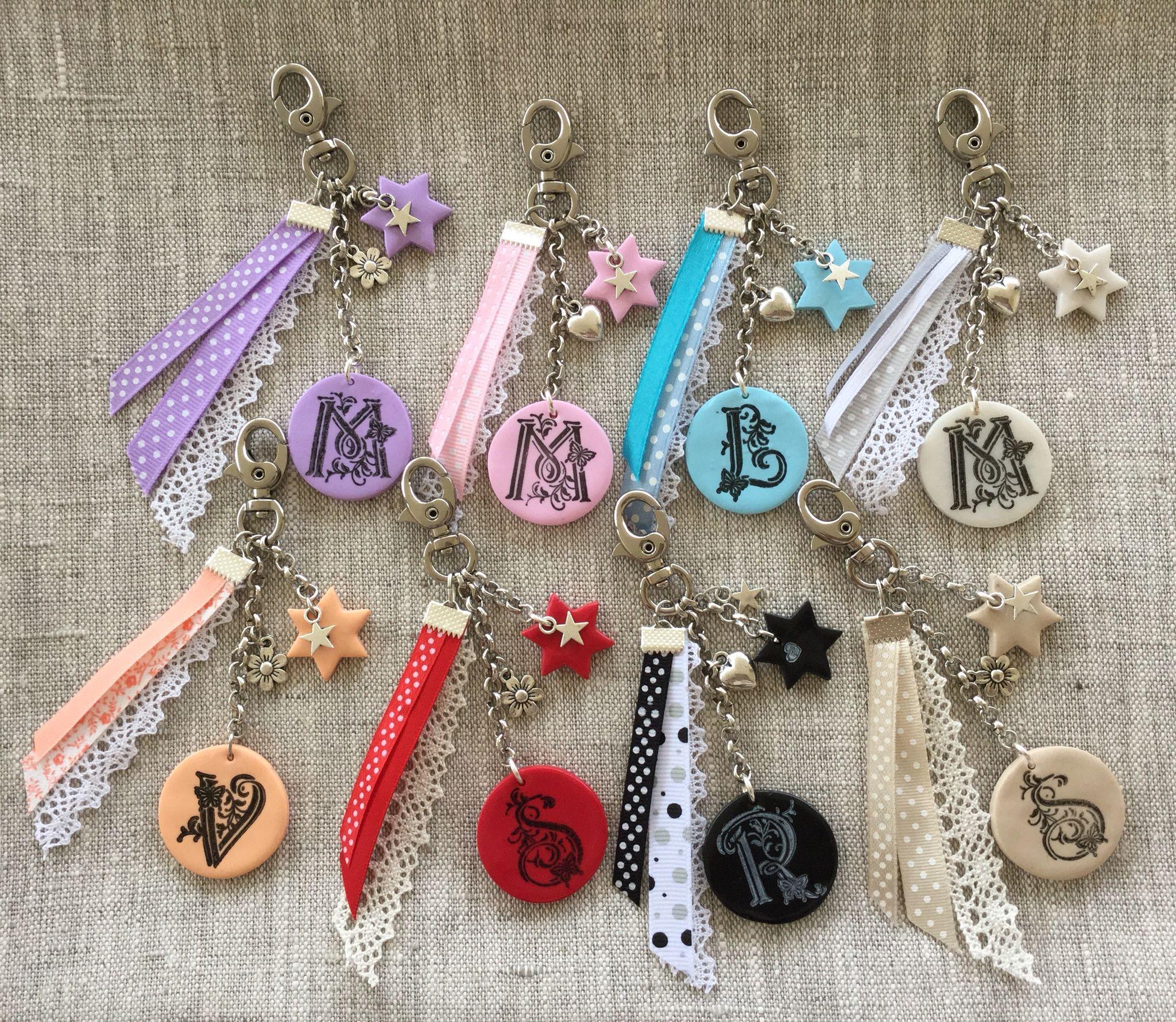 Porte clés ou bijoux de sac personnalisé