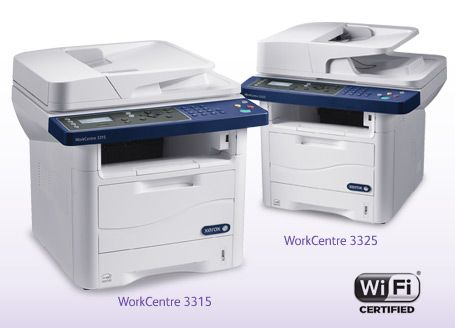 Xerox Workcentre 3315 3325 Black And White Multifunction