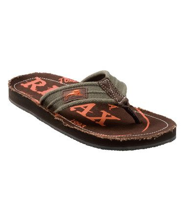 312a0e44fc59 Tommy Bahama Men up to 65% off Olive Beachwalker Flip-Flop