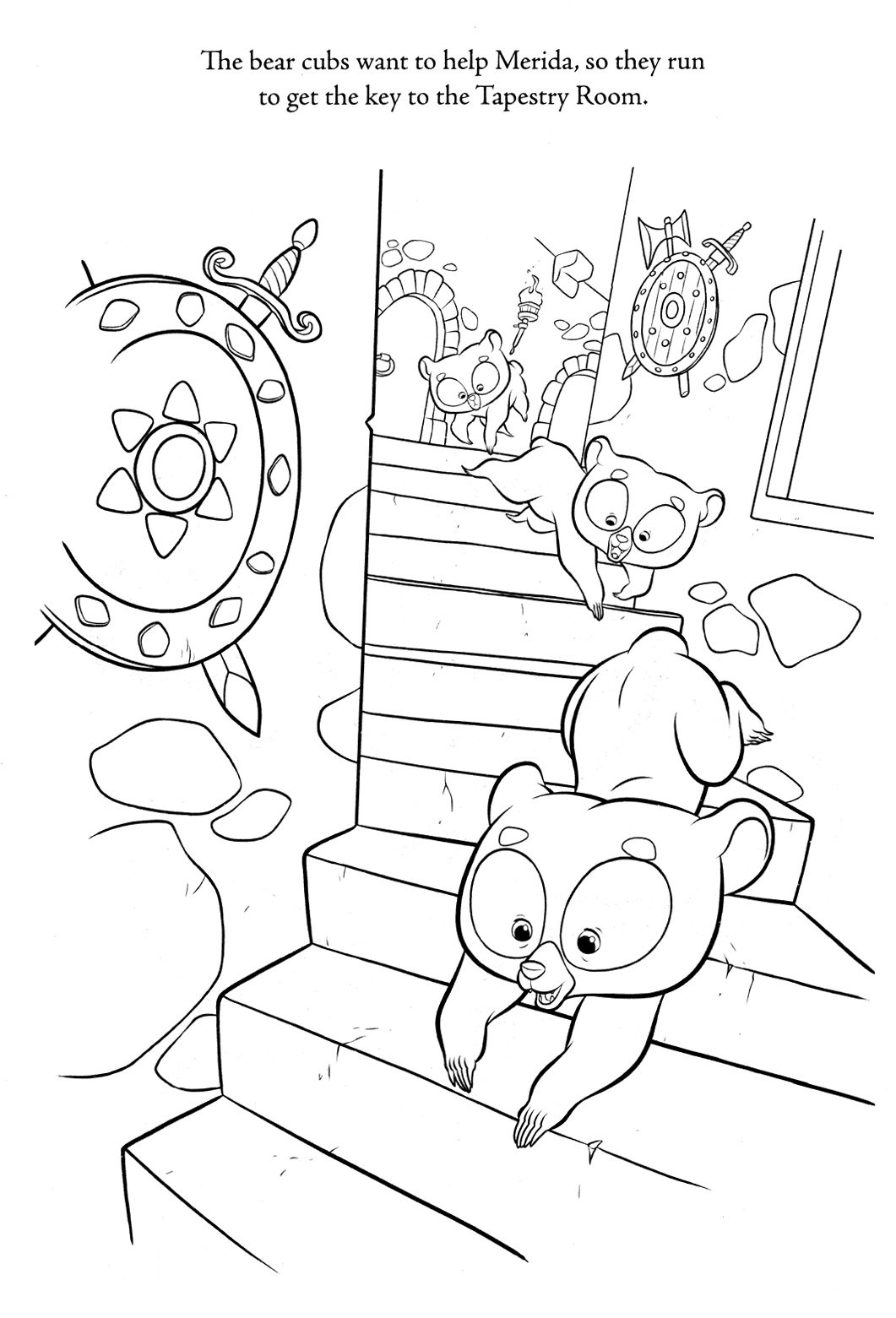Brave Coloring Pages - Best Coloring Pages For Kids | Coloring books,  Disney coloring pages, Coloring pages